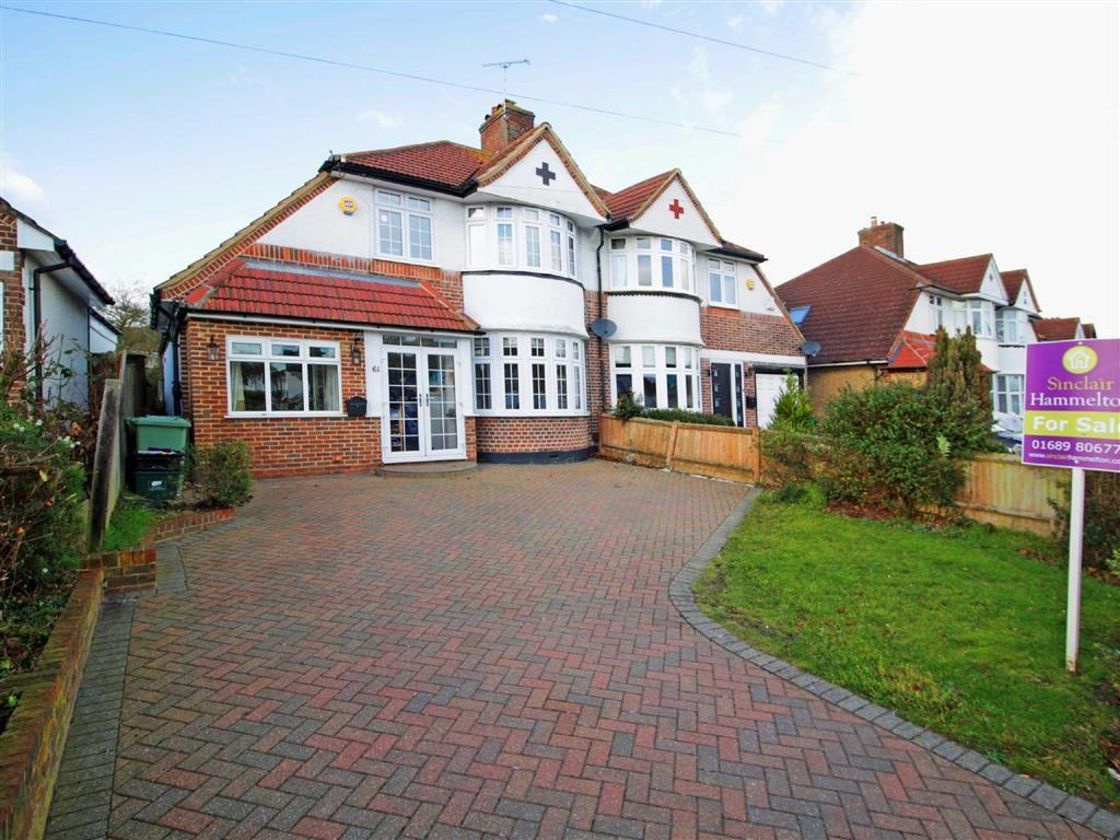 4 Bedrooms Semi Detached House for sale in Belmont Lane, Chislehurst, Kent