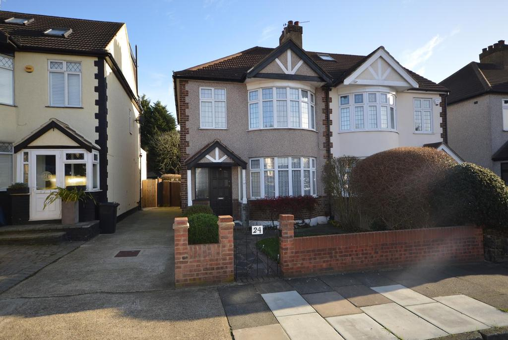 3 Bedrooms Semi Detached House for sale in Lodge Avenue, Gidea Park, Essex, RM2
