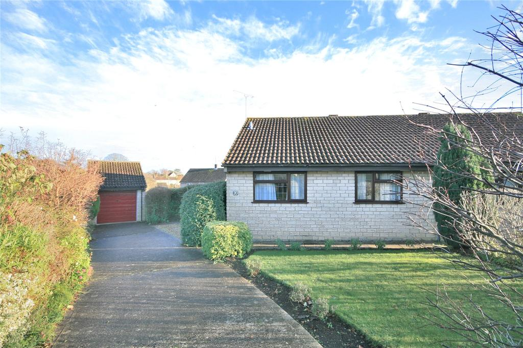 2 Bedrooms Semi Detached Bungalow for sale in Redwing Road, Milborne Port, Sherborne, Dorset