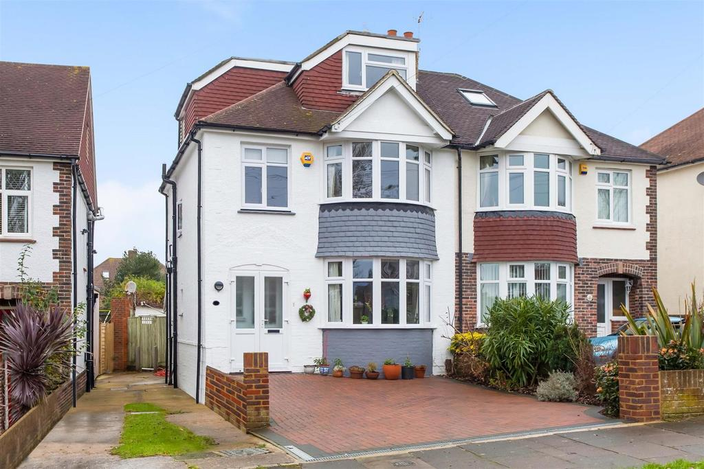 5 Bedrooms Semi Detached House for sale in Foredown Drive, Portslade, Brighton