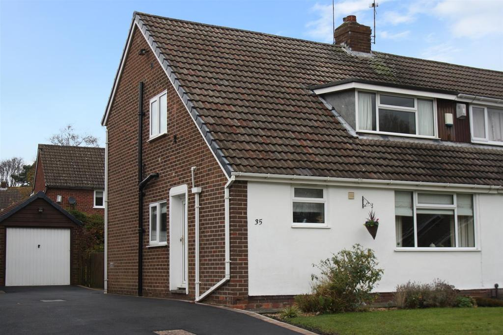 3 Bedrooms Semi Detached House for sale in Barfield Crescent, Alwoodley