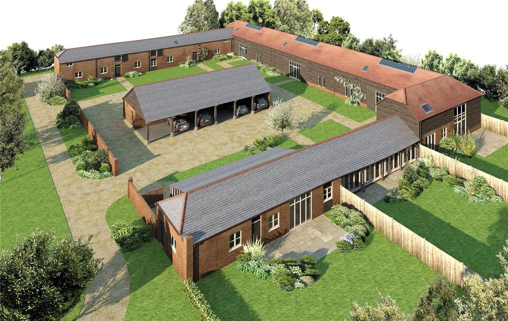 1 Bedroom Unique Property for sale in Down Farm Barns, Abbotts Ann Down, Andover, Hampshire, SP11