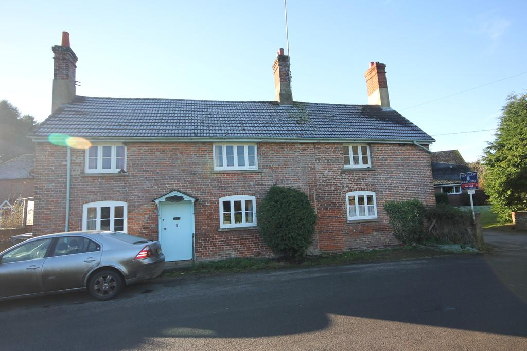 3 Bedrooms Semi Detached House for sale in YEW TREE COTTAGE, WEST DEAN, SALISBURY, WILTSHIRE, SP5 1JA