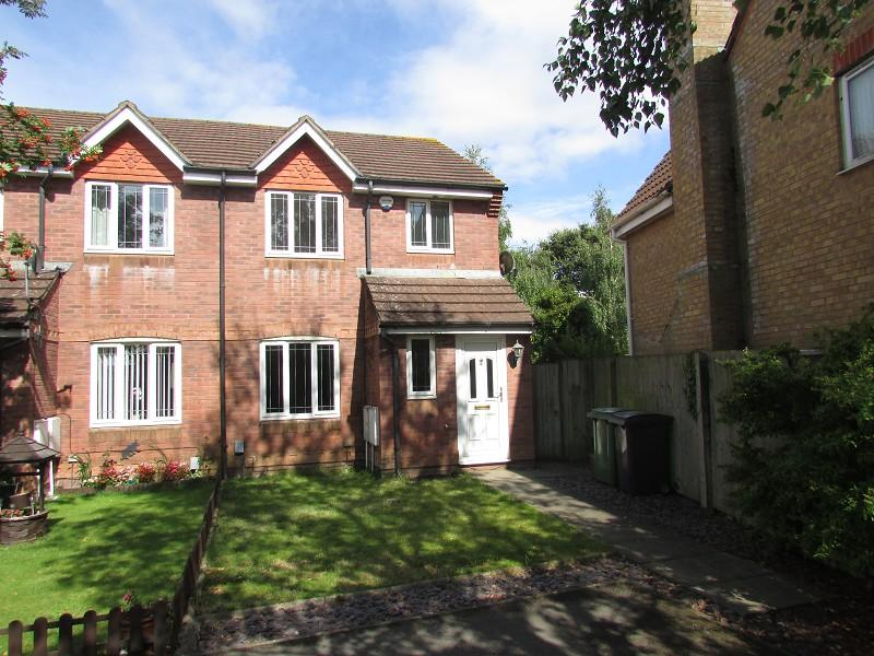3 Bedrooms Semi Detached House for rent in Aston Place, St Mellons, Cardiff. CF3 0PH