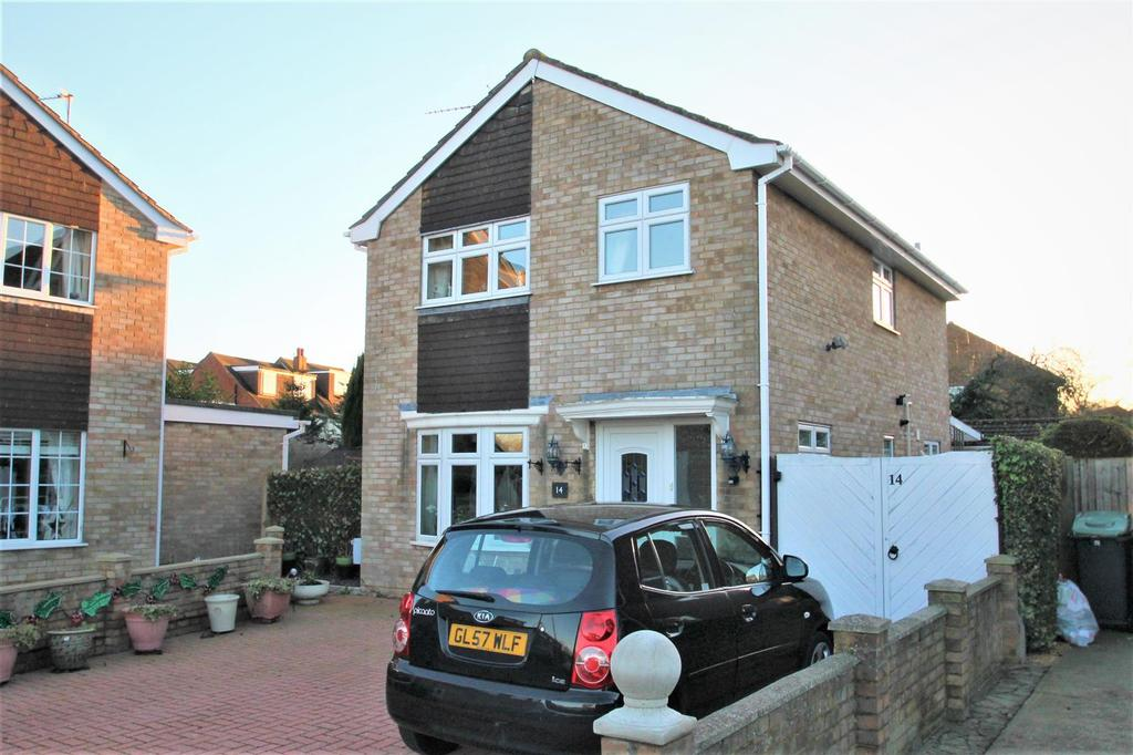 3 Bedrooms Detached House for sale in Coxs Close, Snodland
