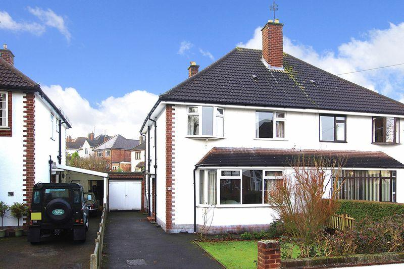 4 Bedrooms Semi Detached House for sale in TETTENHALL, Knights Crescent