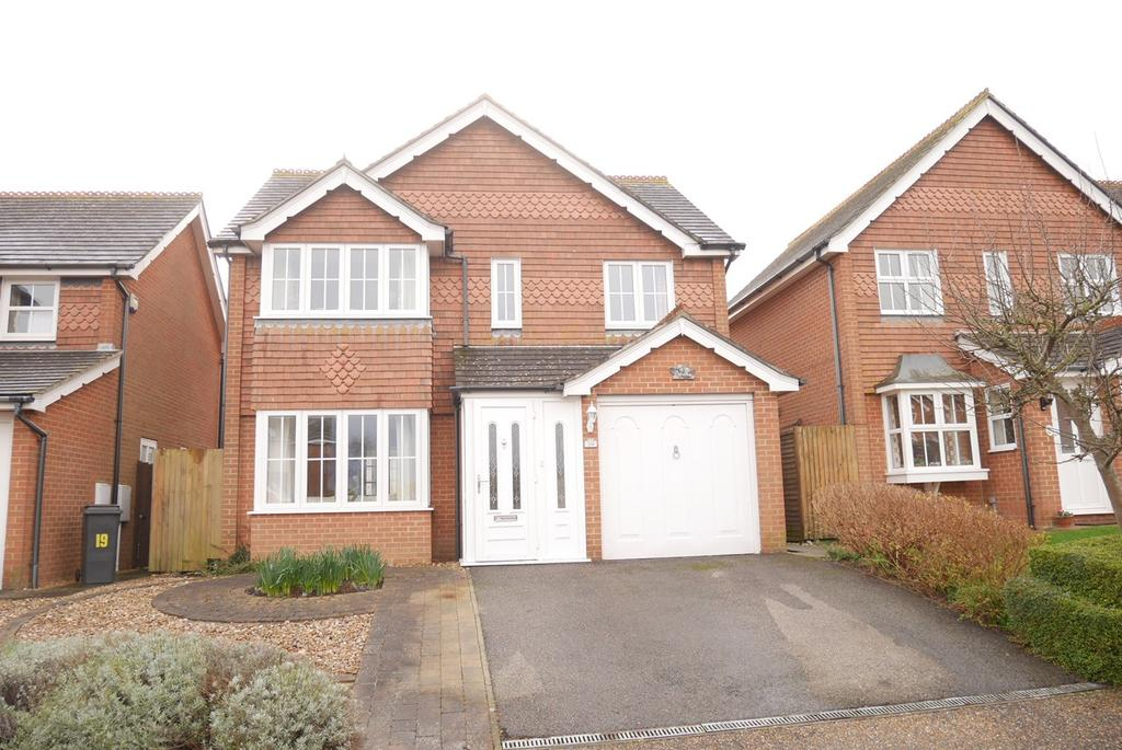 4 Bedrooms Detached House for sale in Letheren Place, Old Town, Eastbourne, BN21