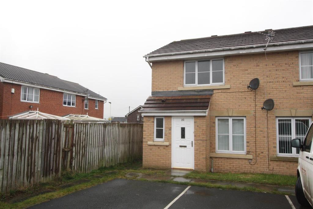 3 Bedrooms End Of Terrace House for sale in Blackmoor Close, Darlington