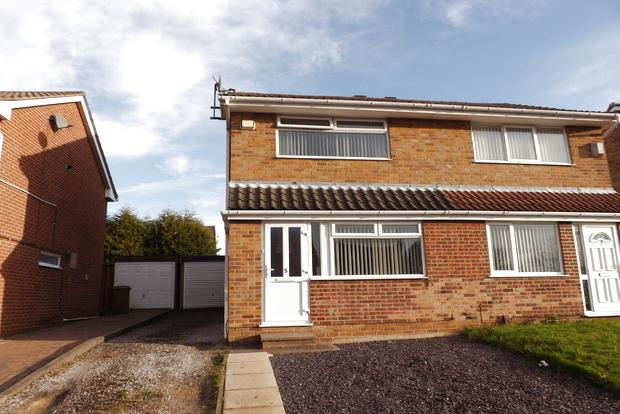 2 Bedrooms Semi Detached House for sale in Verder Grove , Heronridge, Nottingham , NG5