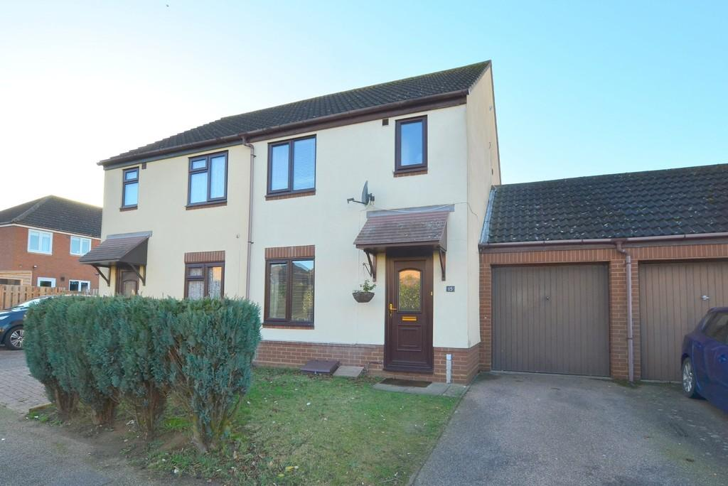 3 Bedrooms Semi Detached House for sale in Wilding Drive, Kesgrave IP5 2AE