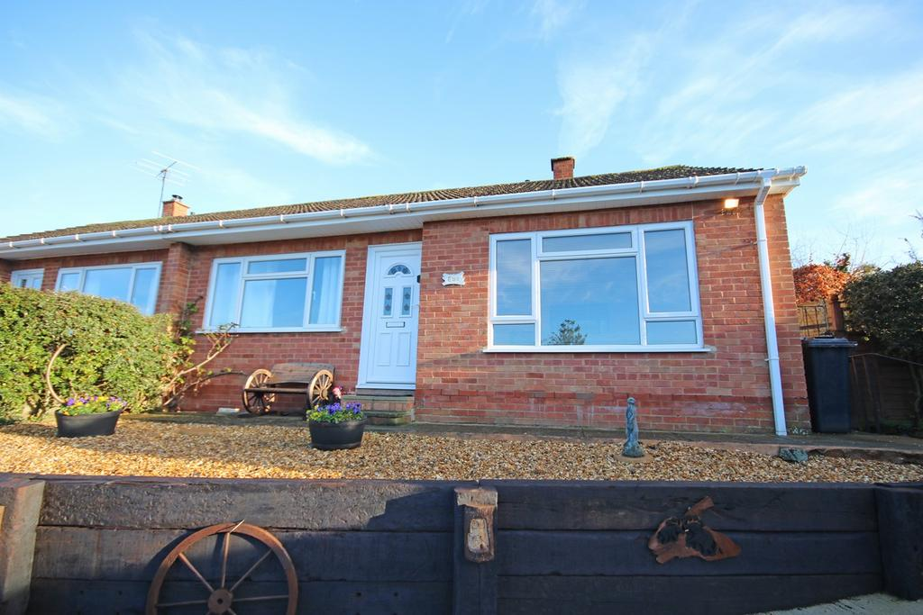 2 Bedrooms Semi Detached Bungalow for sale in Audley Croft, Ledbury, HR8