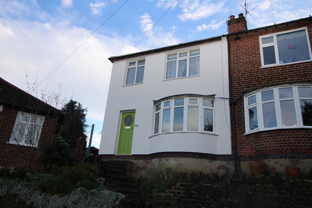 3 Bedrooms Semi Detached House for sale in Fairbank Crescent, Sherwood, Nottingham, Nottinghamshire NG5