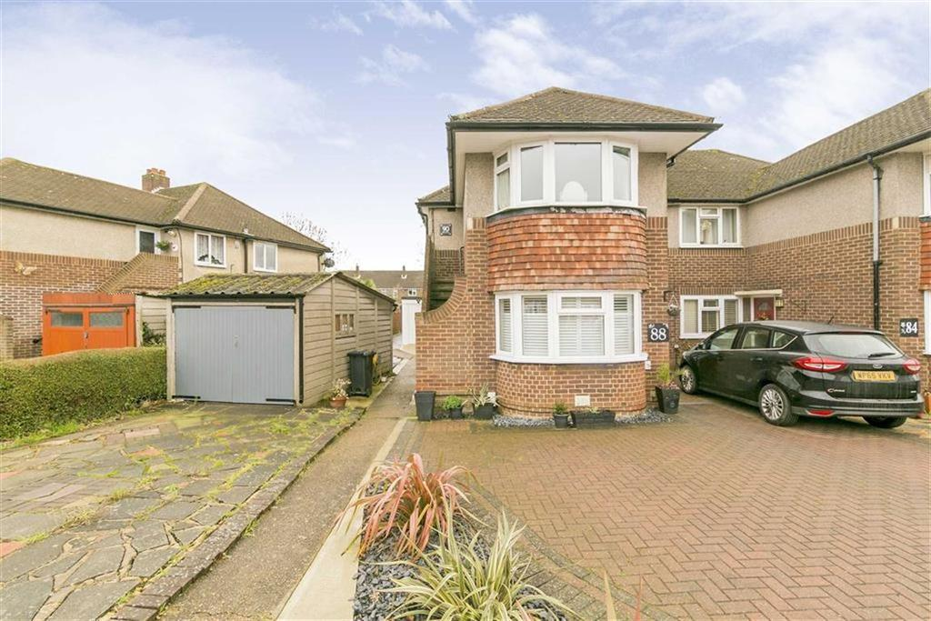 2 Bedrooms Maisonette Flat for sale in Amis Avenue, West Ewell, Surrey