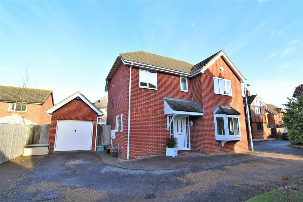 4 Bedrooms Detached House for sale in Centaury Close, Stanway, Colchester