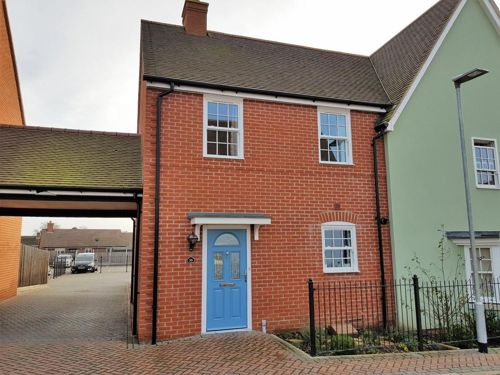 3 Bedrooms Semi Detached House for sale in Pikes Marsh, Bures CO8 5AQ