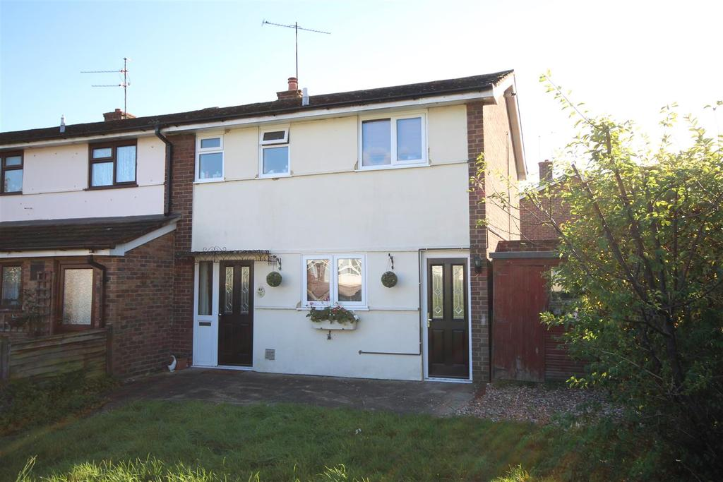 3 Bedrooms End Of Terrace House for sale in Wheble Drive, Woodley, Reading