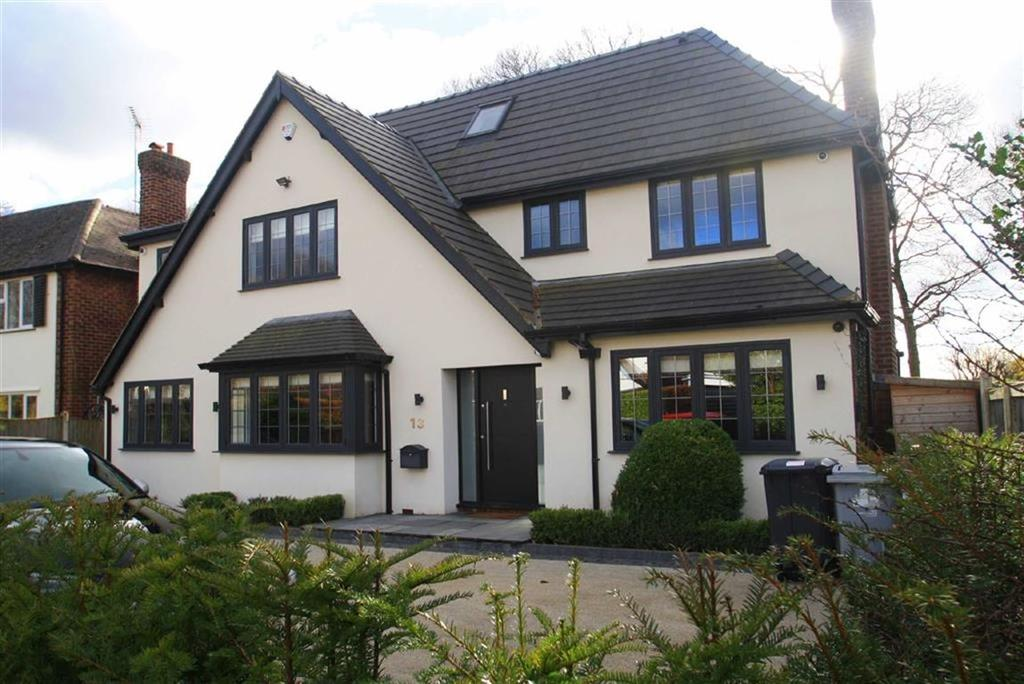 5 Bedrooms Detached House for sale in Alton Road, Pownall Park, Wilmslow