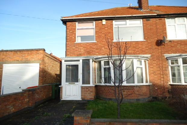 3 Bedrooms Semi Detached House for sale in Ravenhurst Road, Braunstone Town, Leicester, LE3