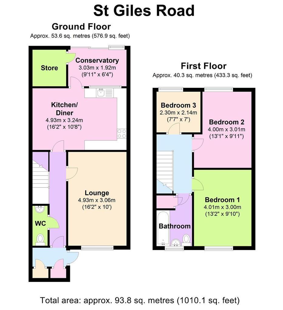 Floorplan: 174 St Giles Rd   Floorplan.JPG