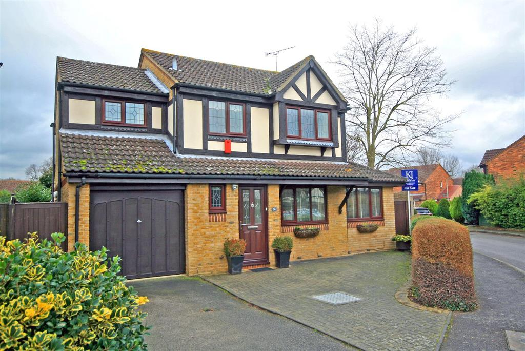 3 Bedrooms Detached House for sale in Presdales Catchment, Furlong Way, Great Amwell