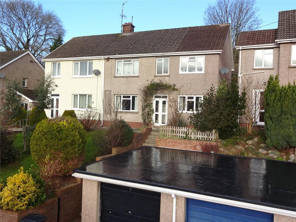 4 Bedrooms Semi Detached House for sale in Pen Y Bryn, Brecon, Powys