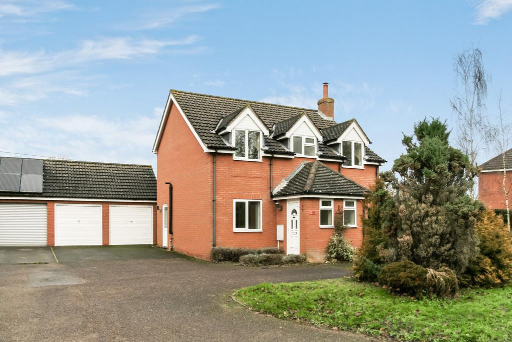 4 Bedrooms Detached House for sale in Mellis, Nr Eye, Suffolk