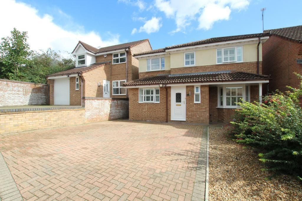 4 Bedrooms Detached House for sale in Rushbrook Close, Ampthill, Bedfordshire, MK45 2XE