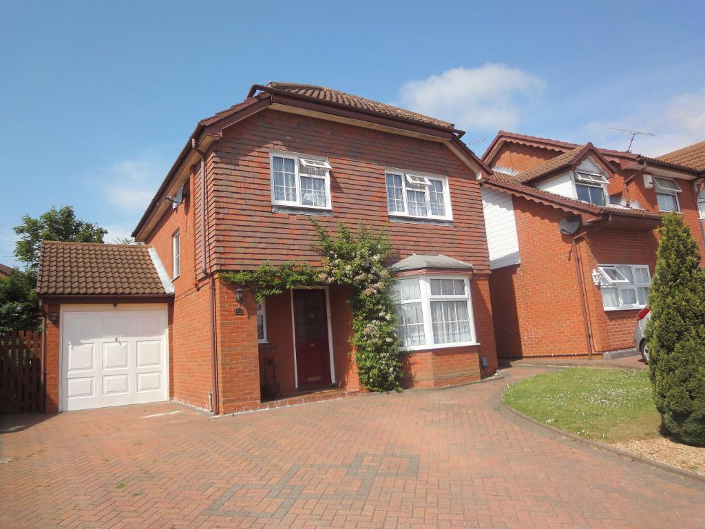 4 Bedrooms Detached House for sale in Kirby Drive, Luton, Bedfordshire, LU3 4AW