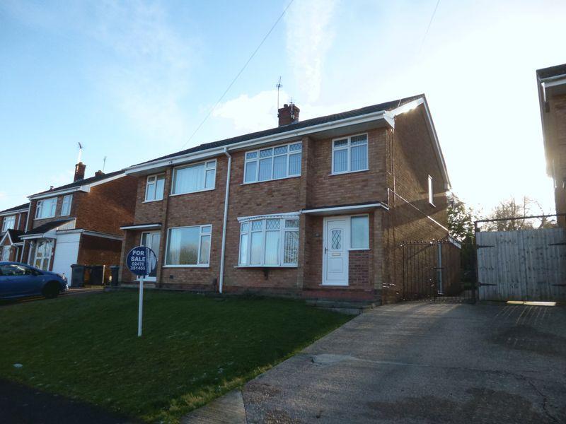 3 Bedrooms Semi Detached House for sale in Berwyn Way, Church Farm, Nuneaton