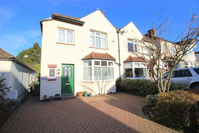 4 Bedrooms Semi Detached House for sale in Longlands Park Crescent, Sidcup, DA15 7NE