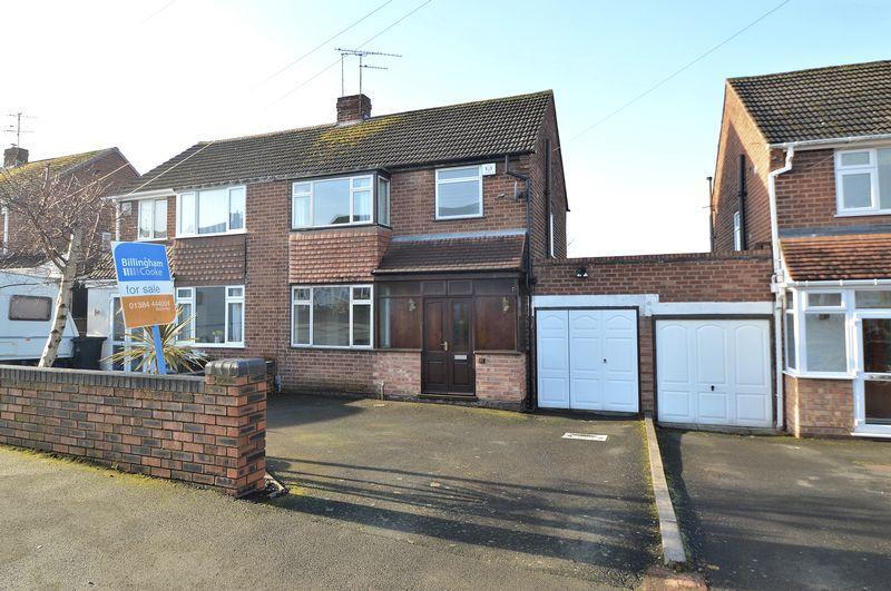 3 Bedrooms Semi Detached House for sale in Oak Park Road, Wordsley, Stourbridge