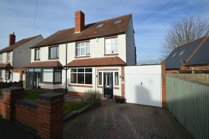 4 Bedrooms Semi Detached House for sale in Perrins Lane, Wollescote