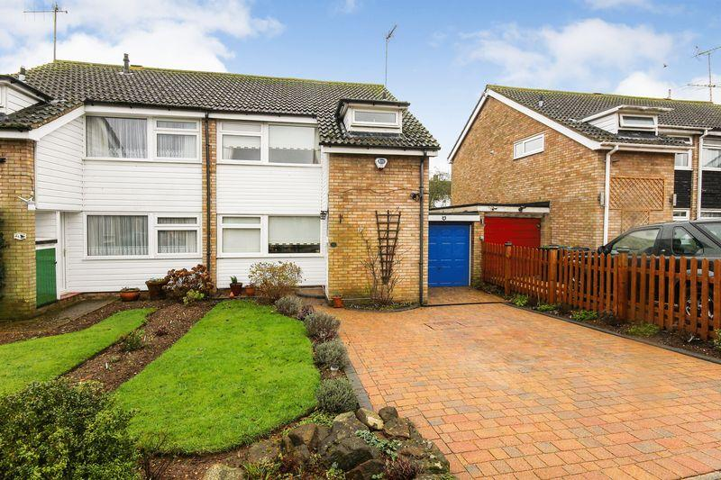 3 Bedrooms Semi Detached House for sale in Goodhall Crescent, Clophill