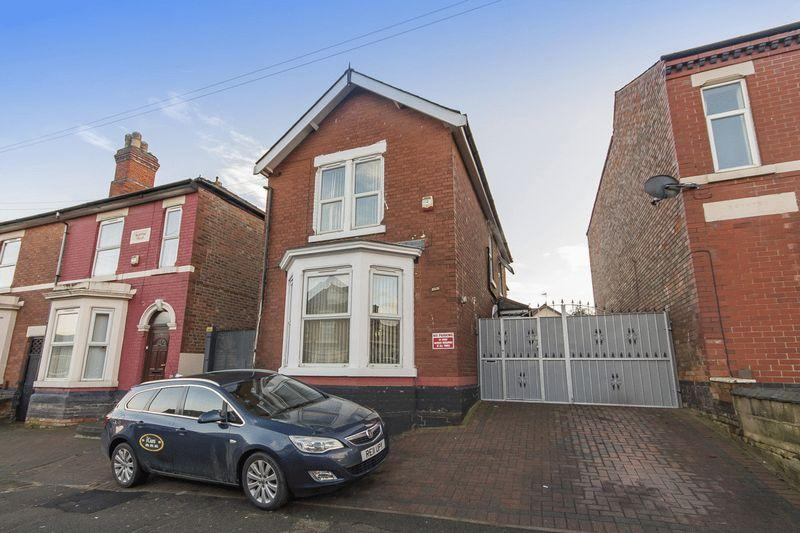3 Bedrooms Detached House for sale in PEAR TREE STREET, DERBY.