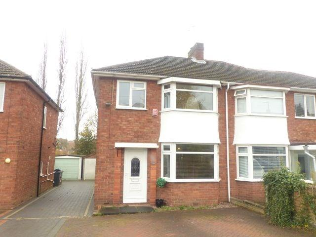 3 Bedrooms Semi Detached House for sale in Harcourt Drive, Four Oaks