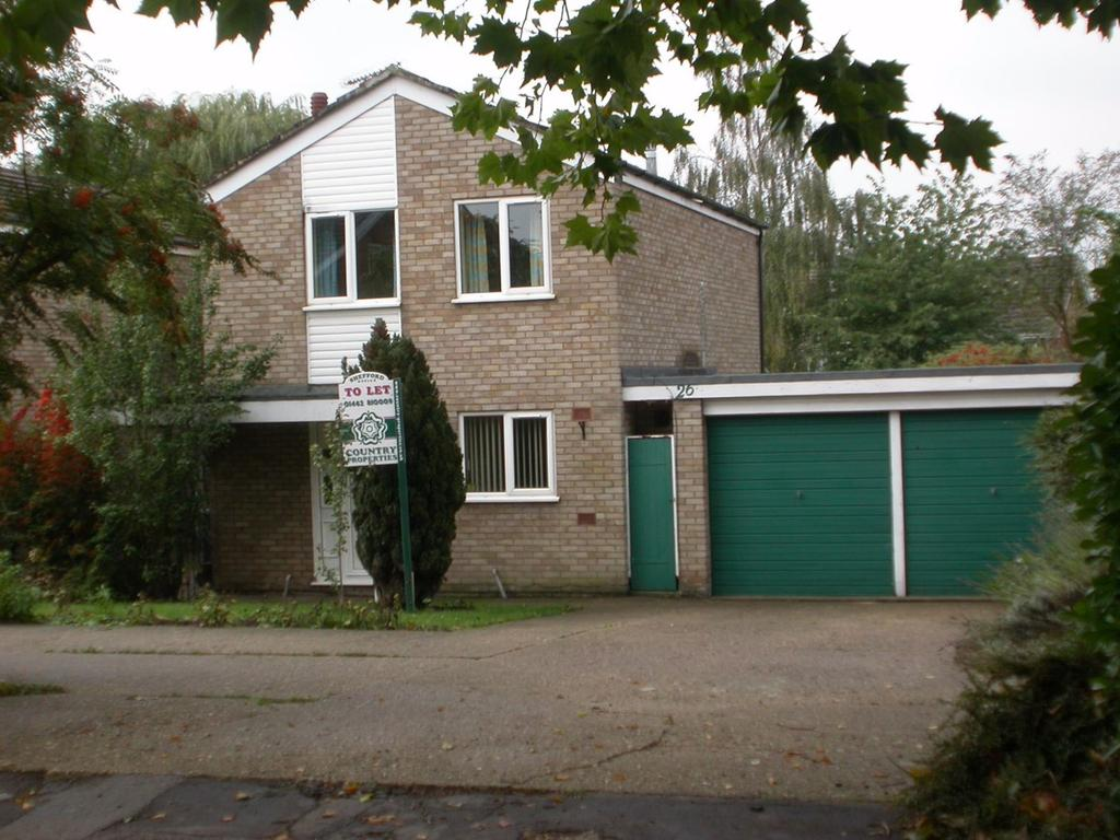 4 Bedrooms Detached House for rent in Manor Close, Clifton, Shefford, SG17