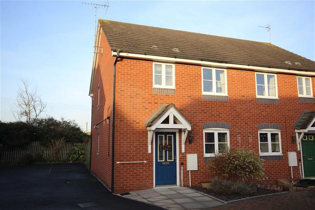 2 Bedrooms Semi Detached House for sale in Davey Road, Saxon Park, Tewkesbury, Gloucestershire