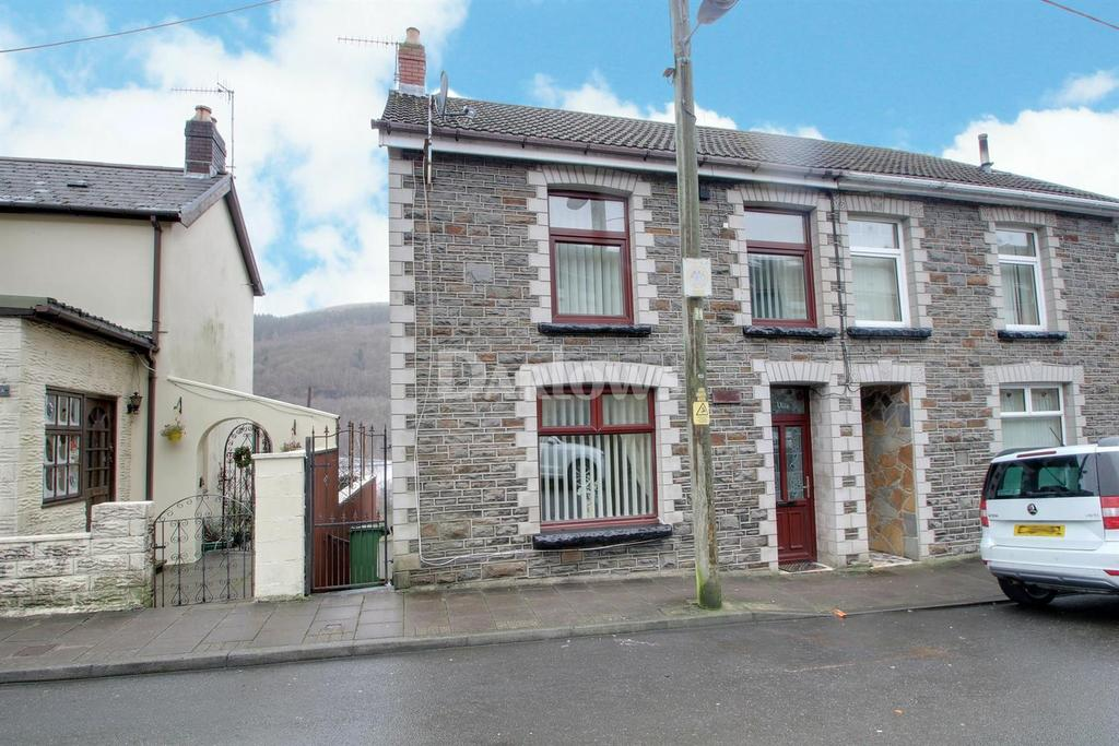 3 Bedrooms Semi Detached House for sale in Woodfield Terrace, Mountain Ash