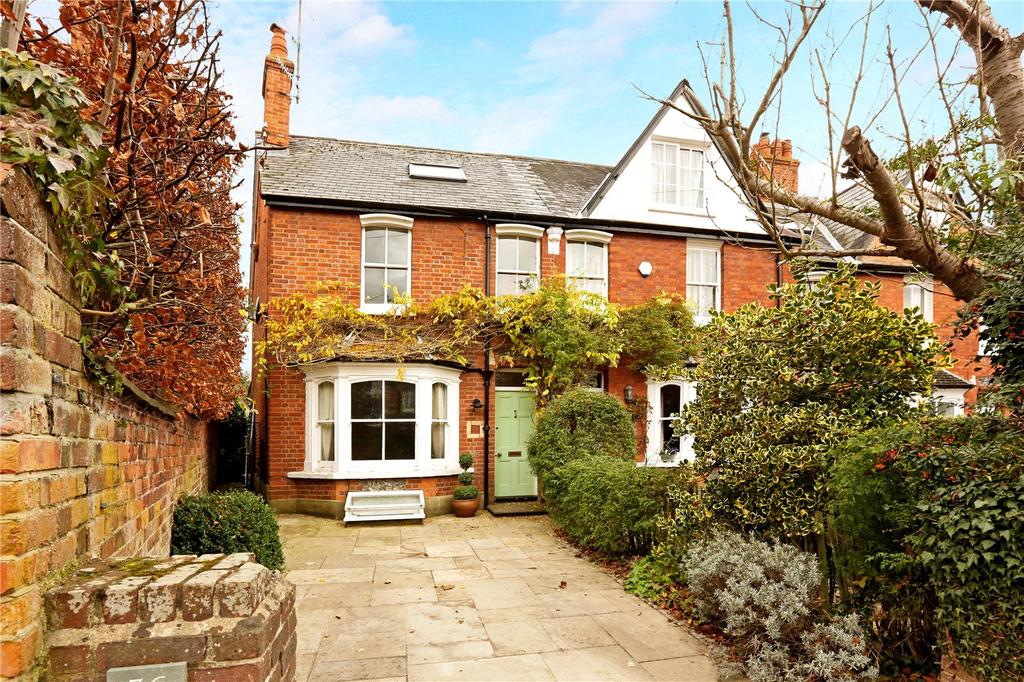 4 Bedrooms End Of Terrace House for sale in Vicarage Road, Henley-on-Thames, Oxfordshire, RG9