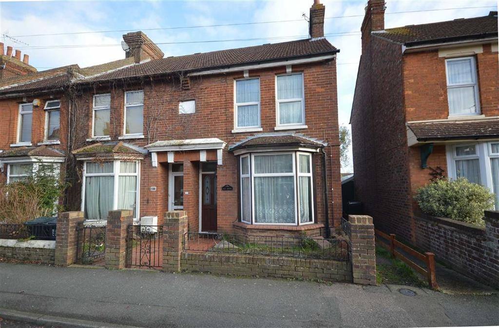 3 Bedrooms End Of Terrace House for sale in Christchurch Road, Ashford, Kent