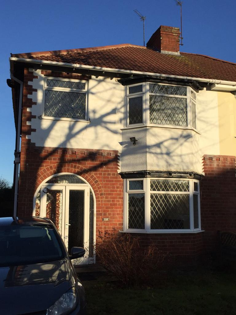 3 Bedrooms Semi Detached House for rent in Pinfold Lane, Wolverhampton WV4