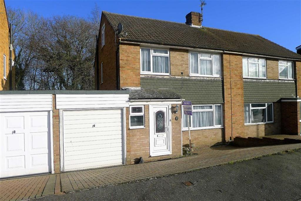 3 Bedrooms Semi Detached House for sale in Hinton Crescent, Hempstead, Kent, ME7