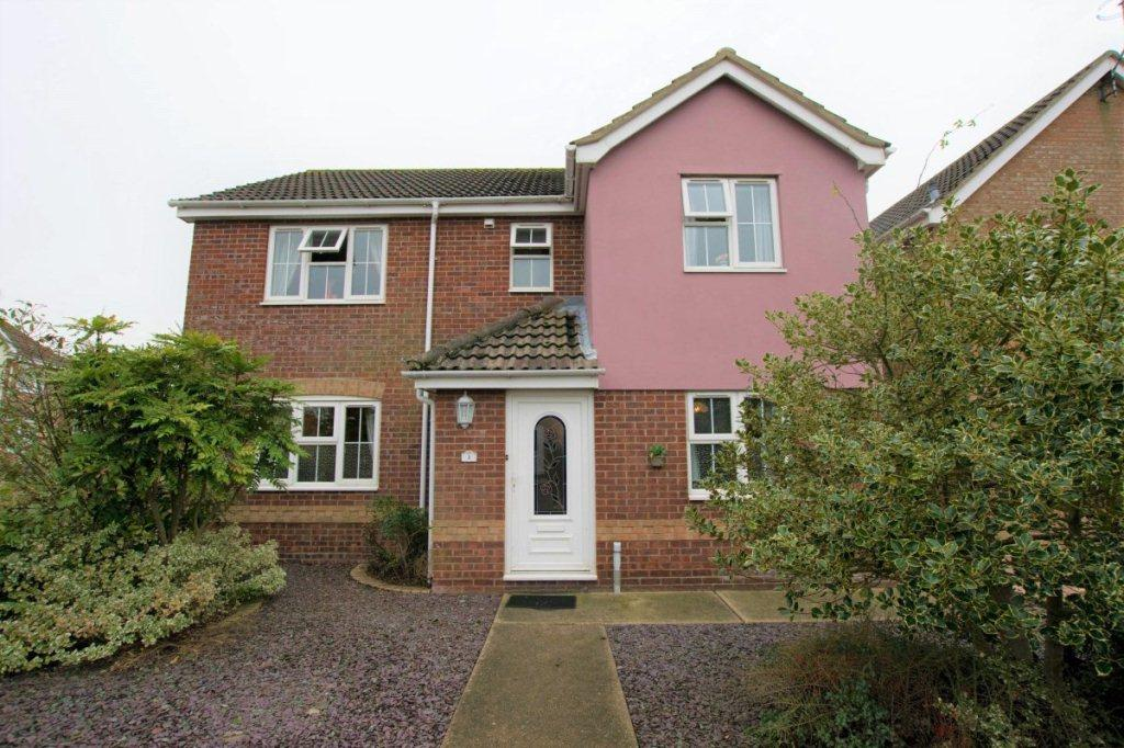 4 Bedrooms Detached House for sale in Broad Fleet Close, Oulton