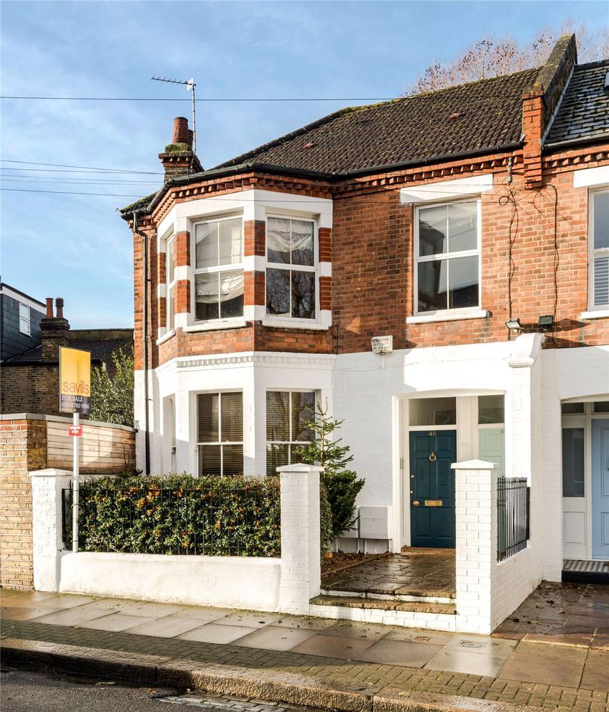 3 Bedrooms Flat for sale in Brandlehow Road, Putney, London, SW15
