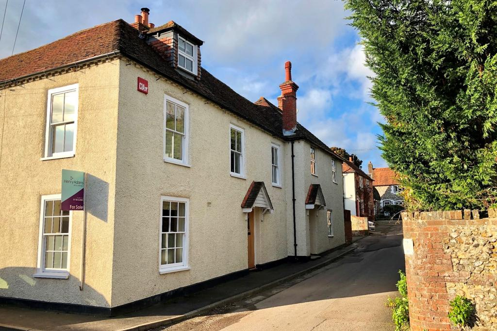 4 Bedrooms Semi Detached House for sale in Walnut Tree Cottages, Vicarage Lane, Hambledon, Waterlooville, PO7
