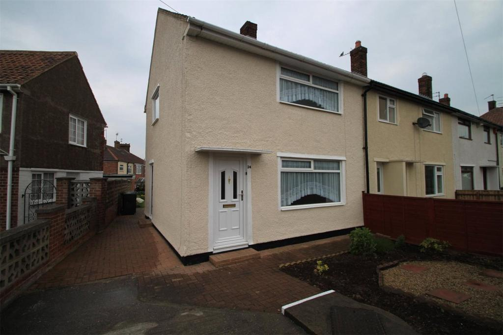 2 Bedrooms End Of Terrace House for sale in Keats Road, Normanby