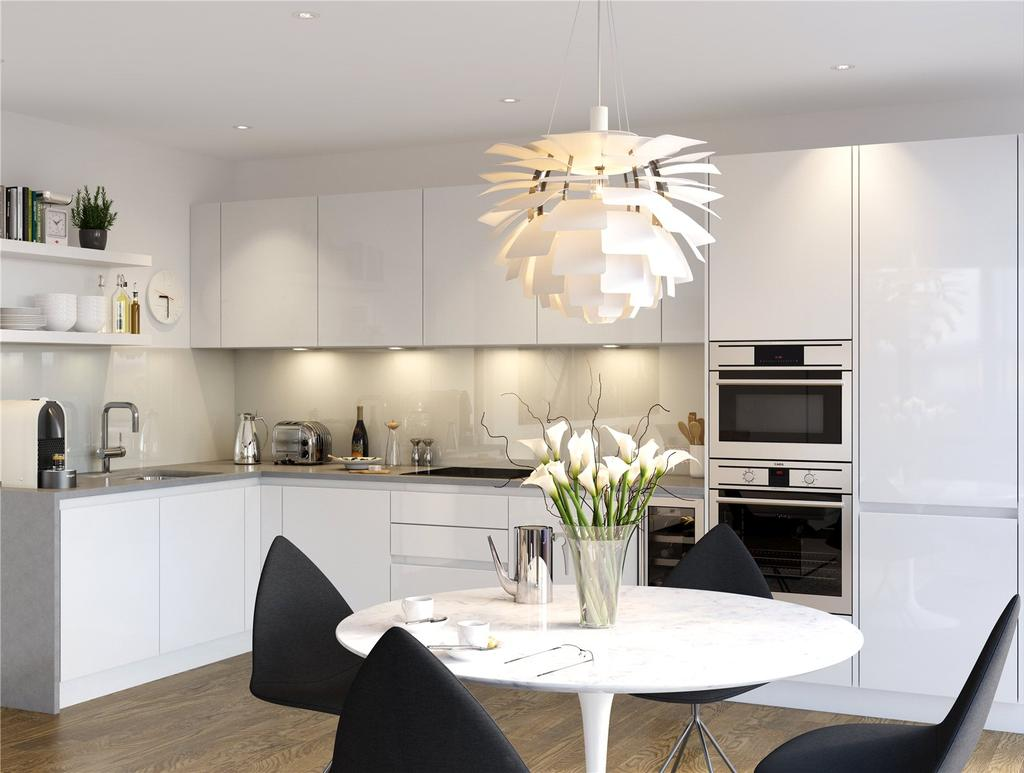 3 Bedrooms Apartment Flat for sale in Waterford Point, Nine Elms Points, SW8