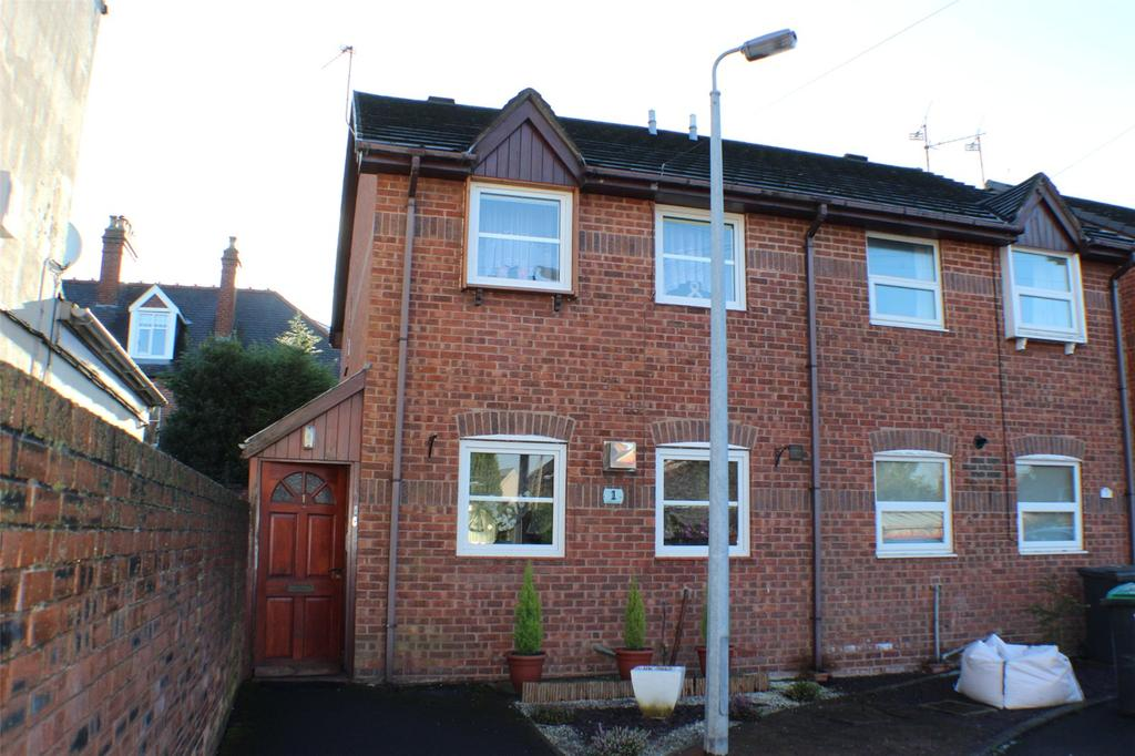 2 Bedrooms End Of Terrace House for sale in Talbot Court, Wrexham, LL13