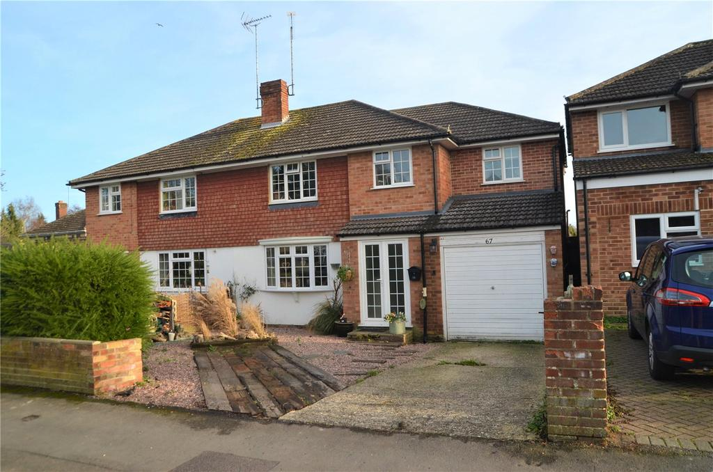 4 Bedrooms Semi Detached House for sale in Cotswold Way, Tilehurst, Reading, Berkshire, RG31