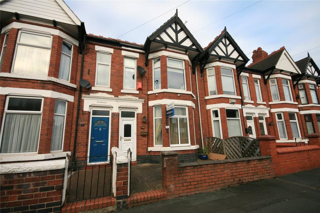 3 Bedrooms Terraced House for sale in Bedford Street, Crewe, Cheshire, CW2